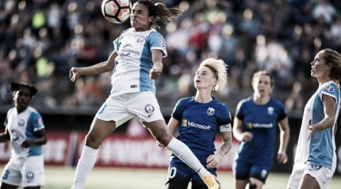 Marta comes up big and Orlando Pride draw the Seattle Reign 1-1