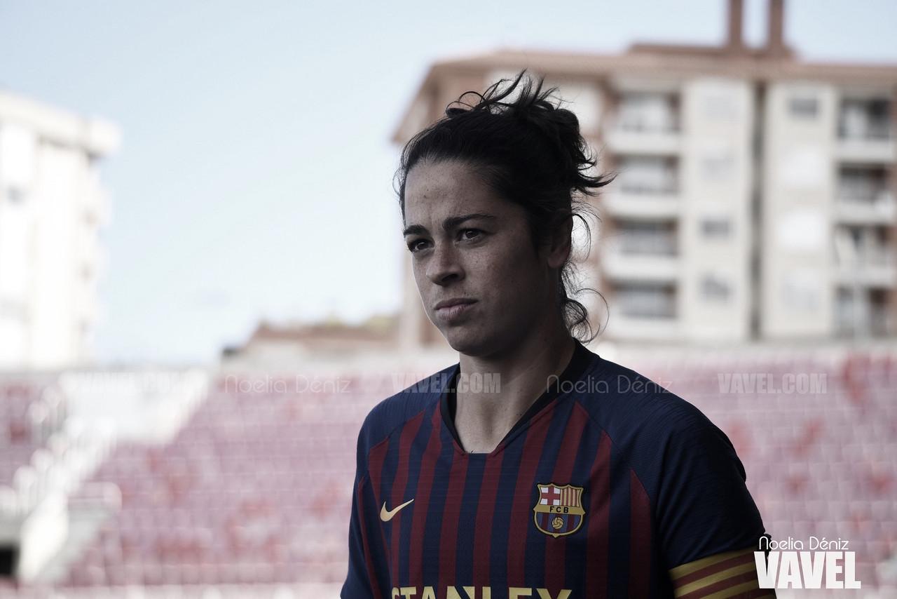 """Marta Torrejón: """"Se tiene que luchar mucho para llegar a jugar estos partidos"""""""