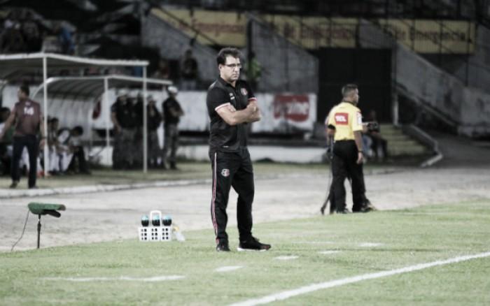 """Martelotte cita erros no empate contra Oeste: """"Número que ganha jogo é de gols marcados"""""""
