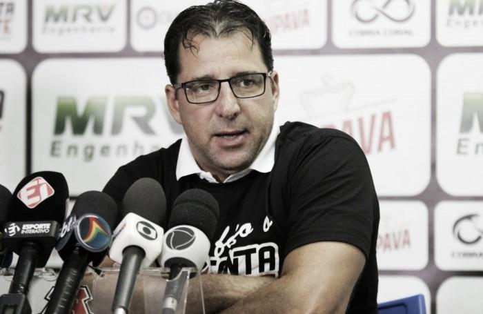 Em seu retorno ao Arruda, Martelotte exalta vitória do Santa Cruz e prega confiança