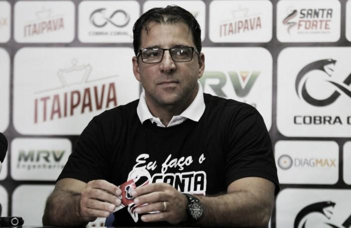 No retorno ao Santa Cruz, Marcelo Martelotte acredita em reviravolta mesmo em momento complicado