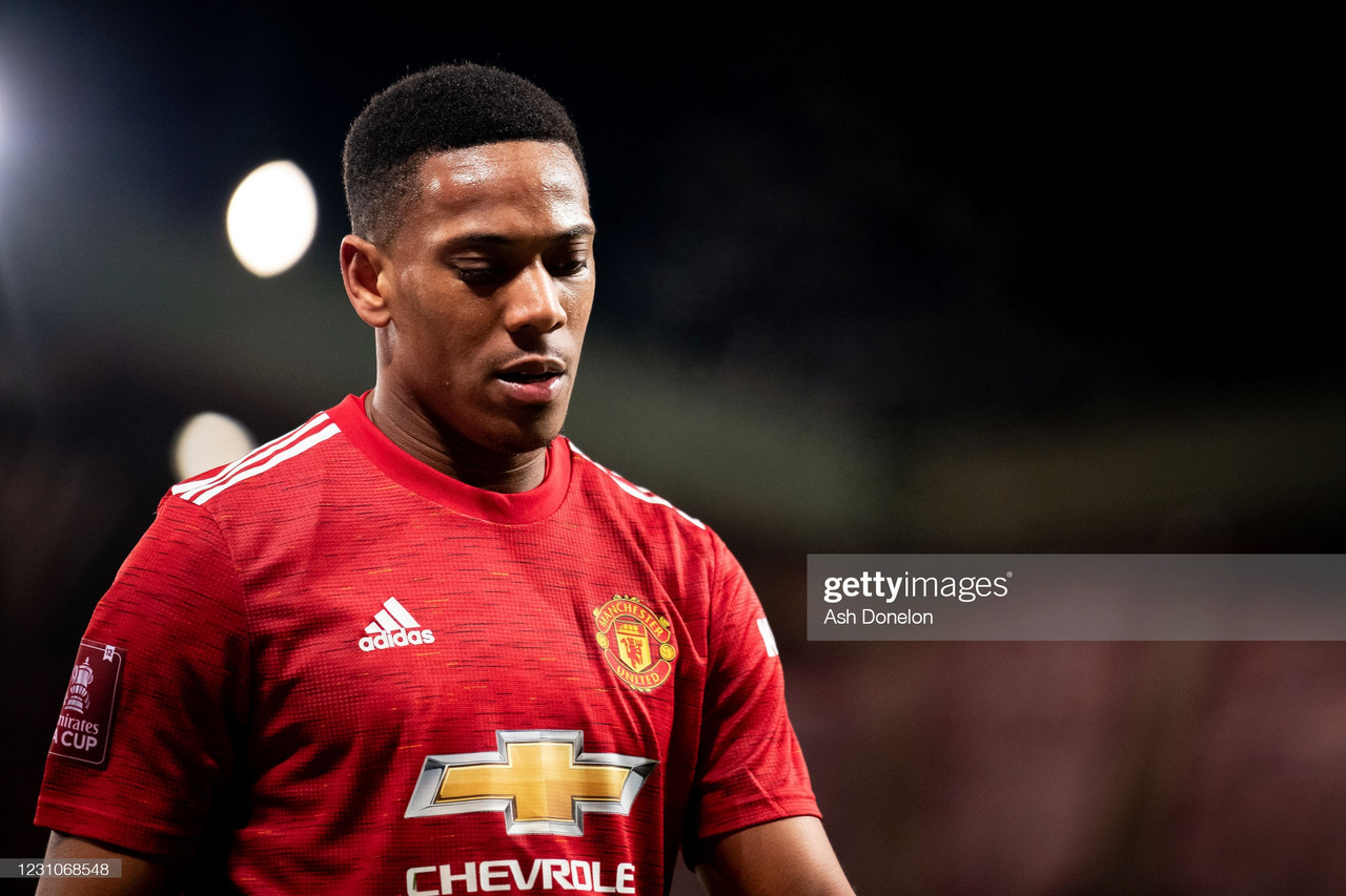 Opinion: Forget wanting to be a centre-forward – Anthony Martial just isn't good enough