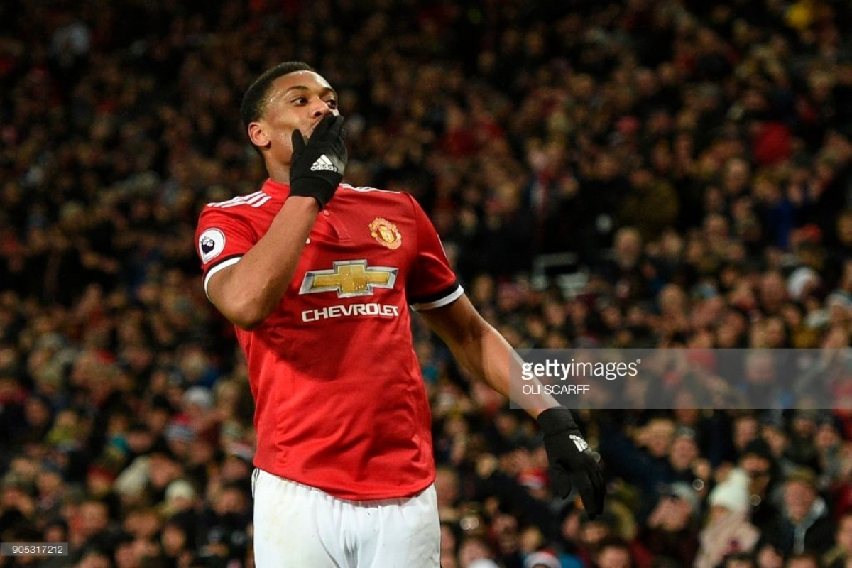 Manchester United open to selling Anthony Martial, suggest reports