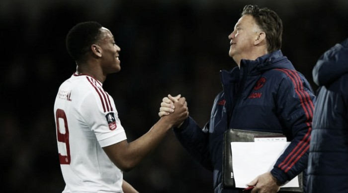 Martial hails Van Gaal for improving him as player