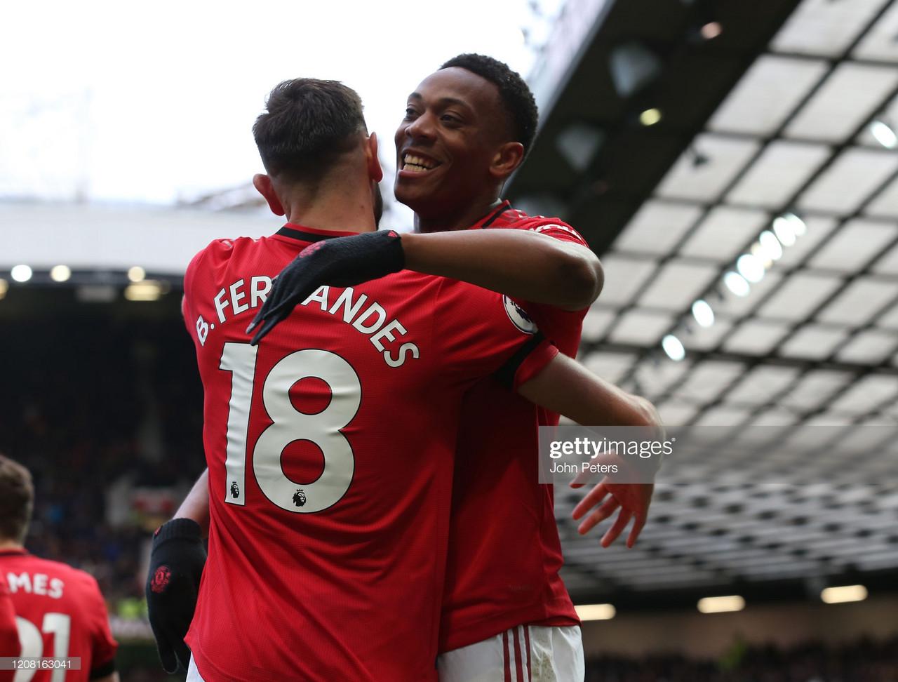 Solskjaer demands more from Manchester United's Martial despite 3 goals in a week