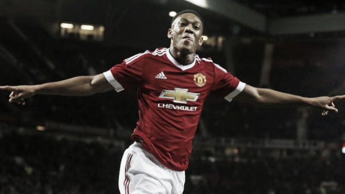 Anthony Martial: A shining light in Manchester United's season