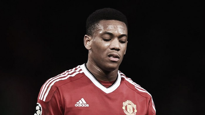 Anthony Martial injury 'not too heavy', says van Gaal