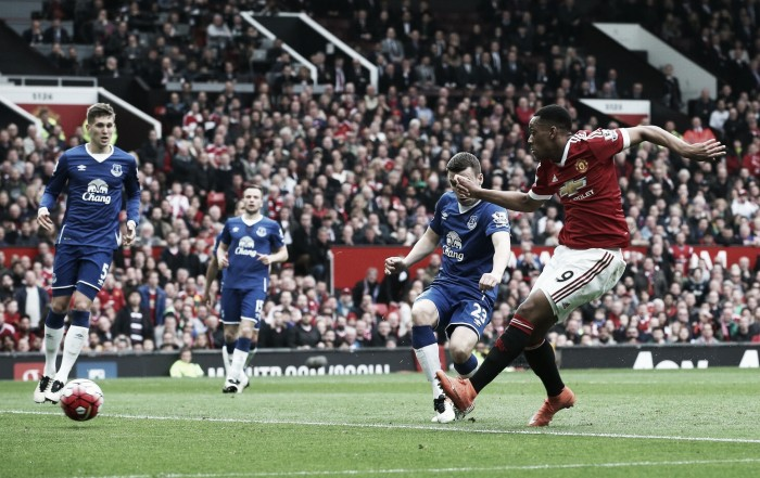 Manchester United 1-0 Everton: Martial's strike ends the Blues' unbeaten away run