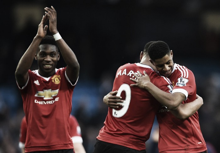 Anthony Martial impressed by United youngster Marcus Rashford