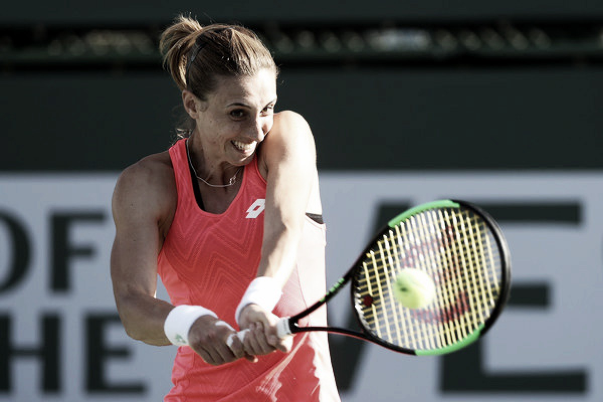 WTA Indian Wells: Petra Martic eases past world number six Jelena Ostapenko