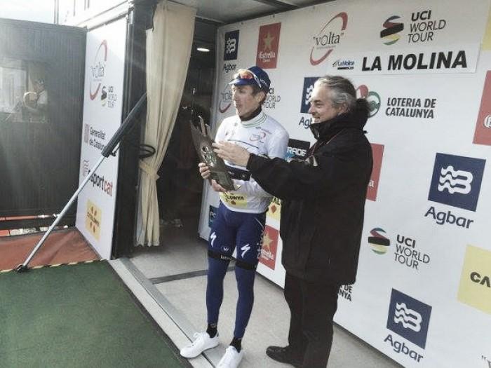 Volta a Catalunya, il primo arrivo in salita è di Daniel Martin
