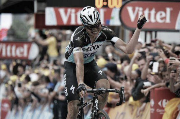 Quintana y Urán superan sin problemas el examen del pavé