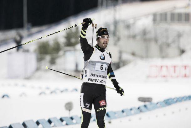 Biathlon, a Oestersund staffetta mista alla Francia di Fourcade
