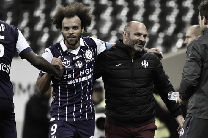 Toulouse bate Monaco com dois do atacante Braithwaite e entra no G-3 da Ligue 1