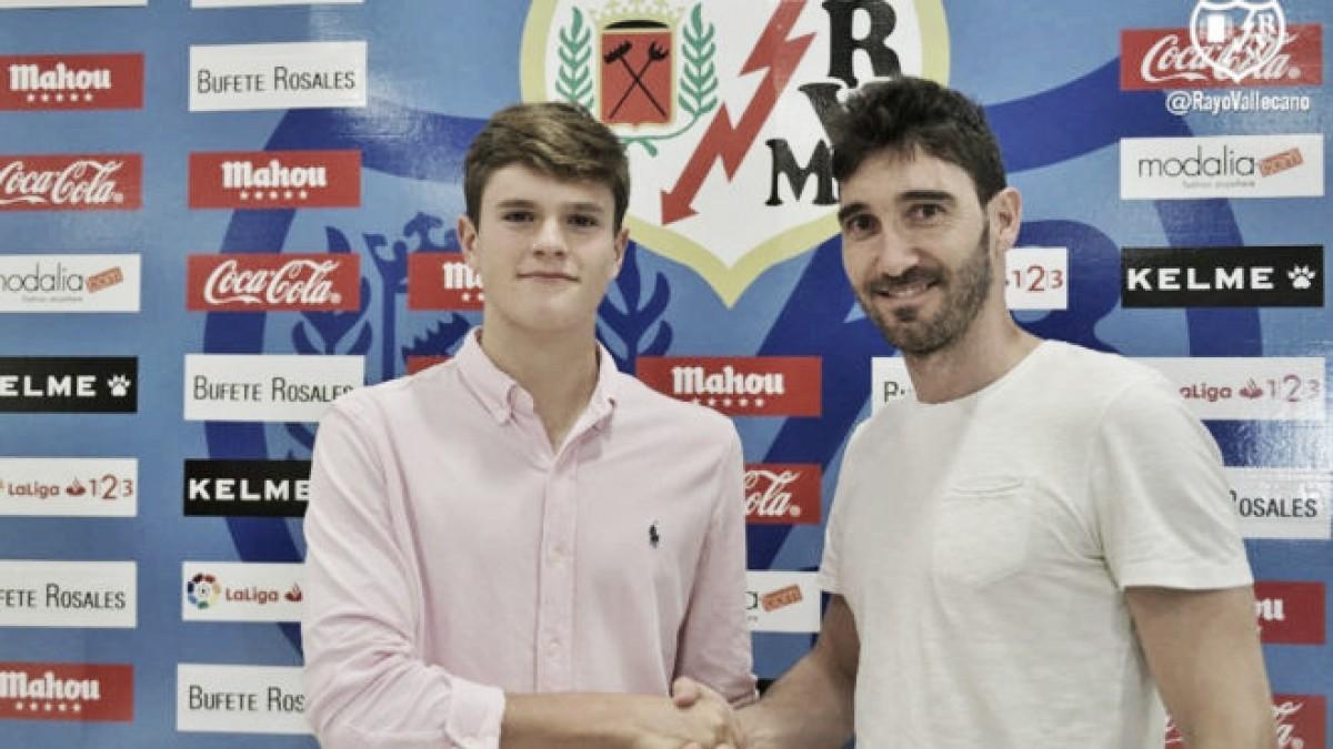 Martín será jugador del Rayo Vallecano hasta el 30 de junio de 2022