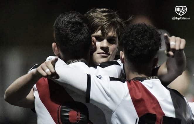 El Rayo Vallecano B logra la victoria que el Juvenil A no logró