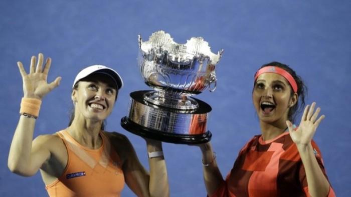 Australian Open: Sania Mirza, Martina Hingis Make It Three Grand Slam Titles In A Row With Win Over Andrea Hlavackova, Lucie Hradecka