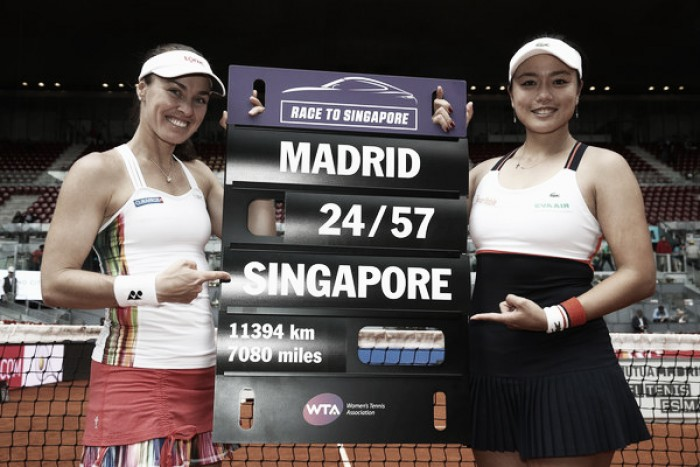 Chan Yung-jan and Martina Hingis qualify for the WTA Finals