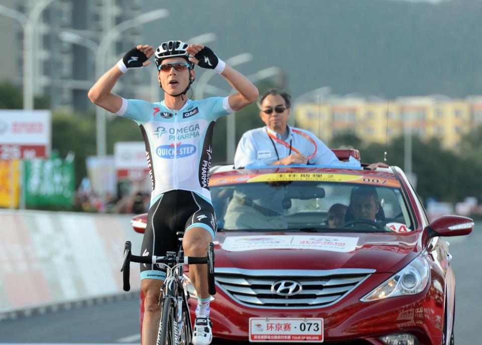 Tony Martin bloquea el Tour de Pekín con una exhibición