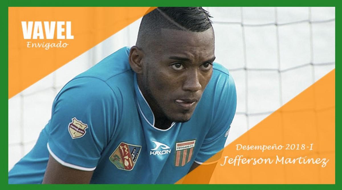 Análisis Envigado F.C. 2018-I: Jefferson Martínez