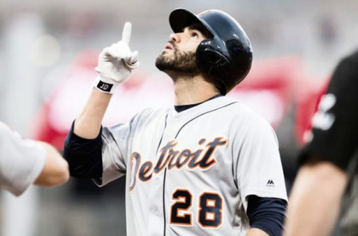 Arizona Diamondbacks acquire J.D. Martinez from the Detroit Tigers