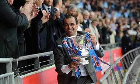 R.Martinez entraîneur d'Everton