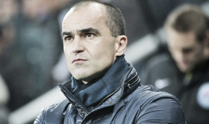 Roberto Martinez says it's time for Everton to move forward in the Premier League