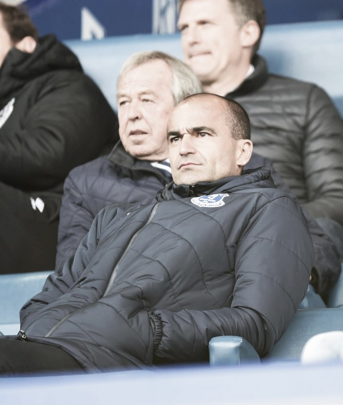 Everton part ways with Roberto Martinez