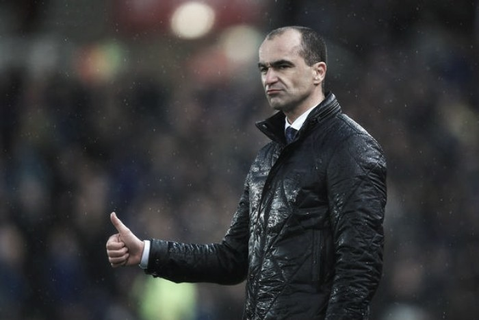 Roberto Martinez insists Everton's 'strong character' will push them on as the season nears it's conclusion