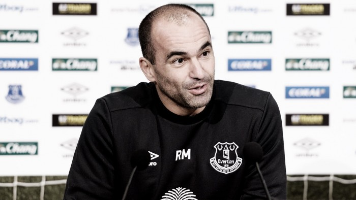 Roberto Martinez: Farhad Moshiri brings an exciting future to Everton