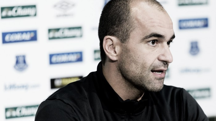 Roberto Martinez says Everton need to finish this season in a strong manner