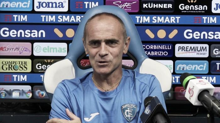 """Empoli, Martusciello: """"Contro la Lazio la voglia mancata contro l'Inter all'inizio"""""""
