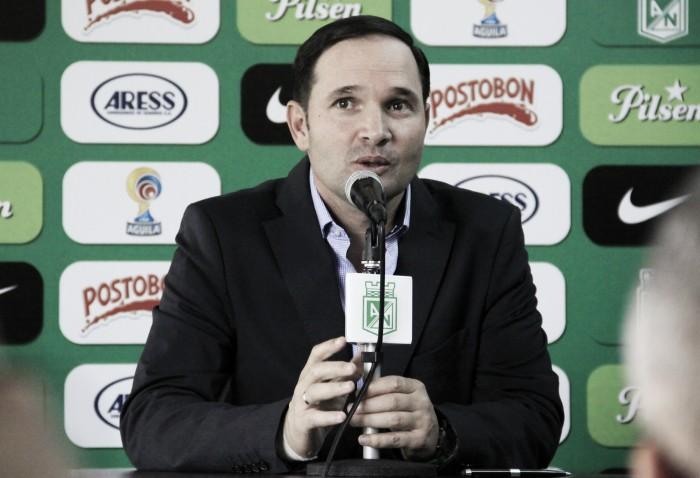 """Víctor Marulanda: """"Esperamos que Dayro Moreno regrese el lunes y quede definido todo con él"""""""
