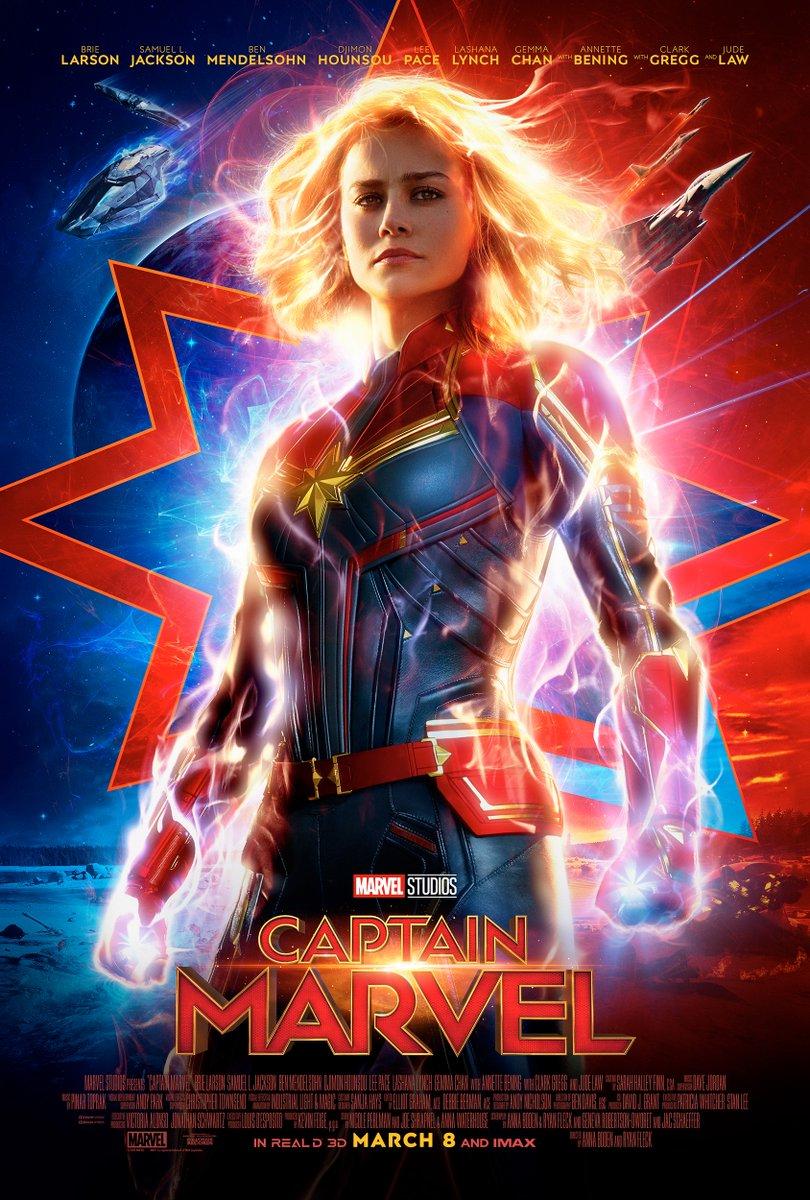 Novo Trailer de 'Capitã Marvel' é divulgado