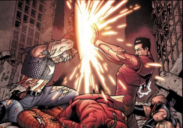 Comic Book Wednesday: Marvel Civil War