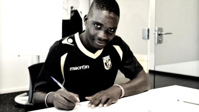 Nakamba, el jugador del Brujas que ha sido ofrecido al Betis