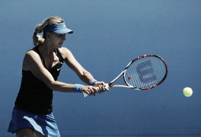 Maryna Zanevska is a new Belgian tennis player