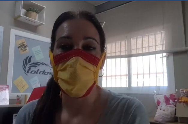 El Granada CF desinfecta mascarillas en la lucha contra el Covid-19
