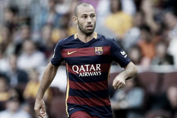 Javier Mascherano gets a two match ban and will return for El Clasico