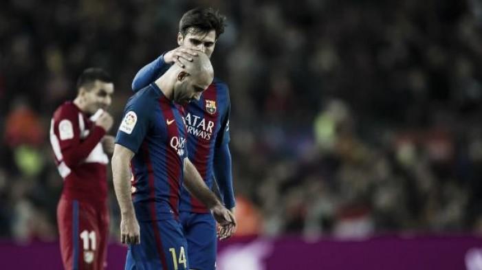 Barcelona confirma lesão na coxa de Mascherano, que deve ficar duas semanas afastado