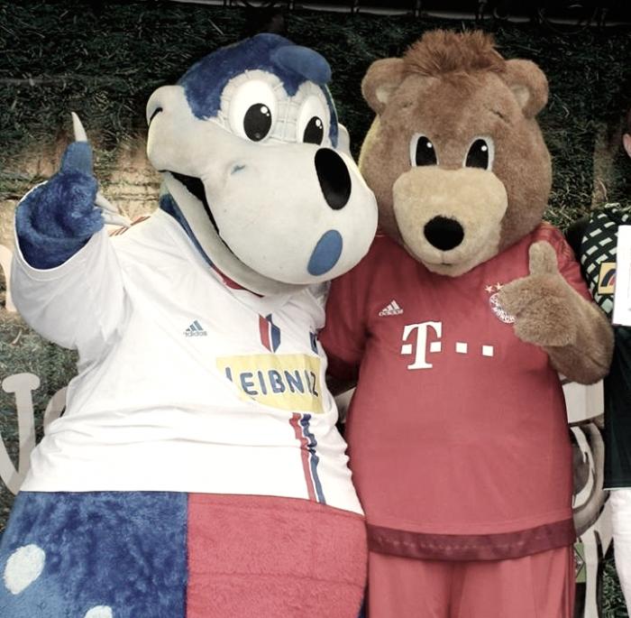 Fantoches, animais e homenagens a mineradores: conheça mascotes da Bundesliga