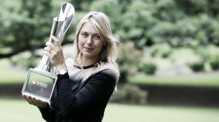 """Wta Brisbane, riecco Maria Sharapova: """"Qui per vincere, voglio uno Slam"""""""