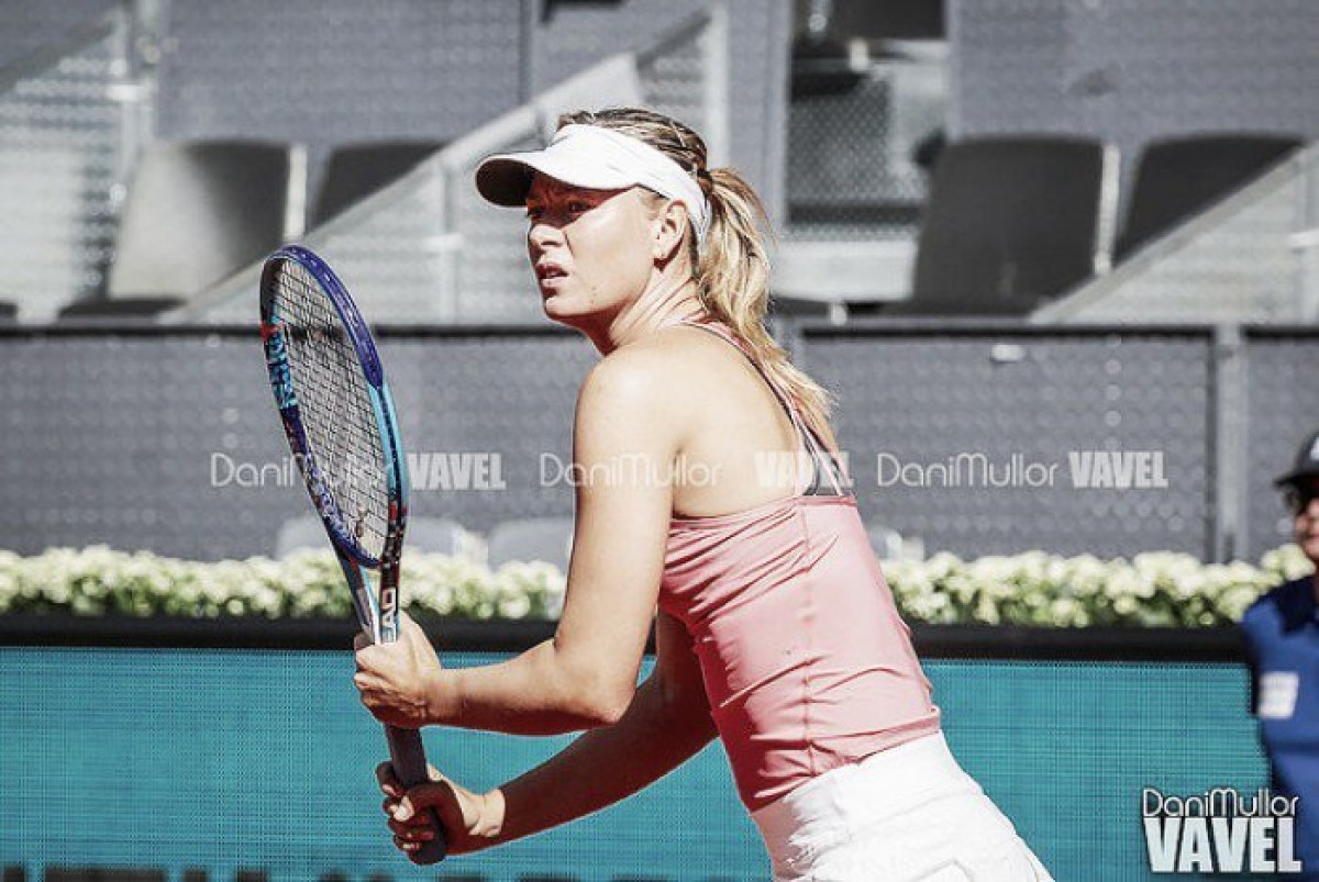 WTA Madrid: ruggito Sharapova, salta Wozniacki