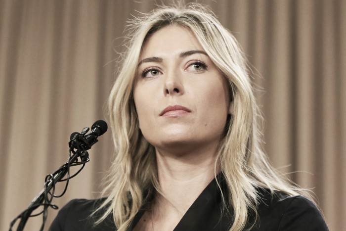 Maria Sharapova's hearing to take place on May 18th