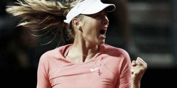 """Wta Roma, Sharapova verso la finale: """"Sulla terra difficile affrontare la Suarez Navarro"""""""