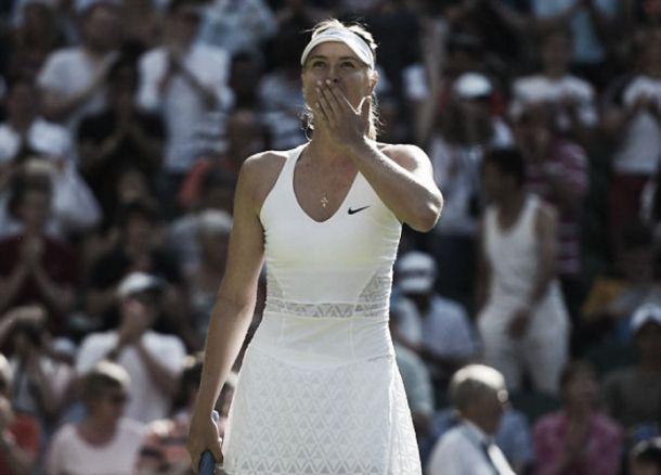 Wimbledon 2015: Sharapova chirurgica, Begu affondata