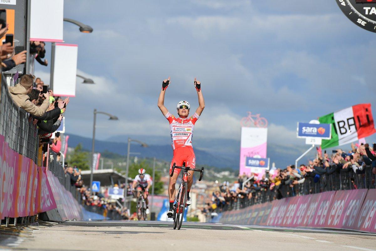 Giro d'Italia: La fuga premia Masnada. Conti è la nuova maglia rosa