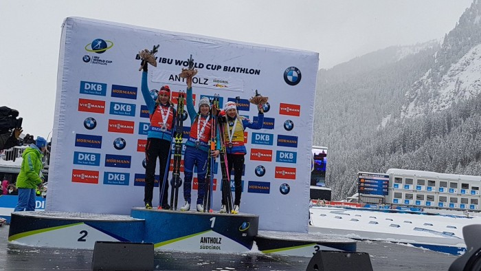 Darya Domracheva s'impose sur la Mass Start d'Anthloz-Anterselva
