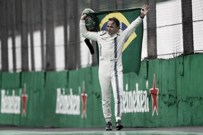 """Emocionado, Massa diz que é """"impossível explicar"""" emoções na última corrida em casa pela F1"""