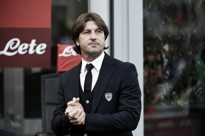 """Cagliari, Rastelli: """"Pescara pericoloso. Borriello è in dubbio"""""""
